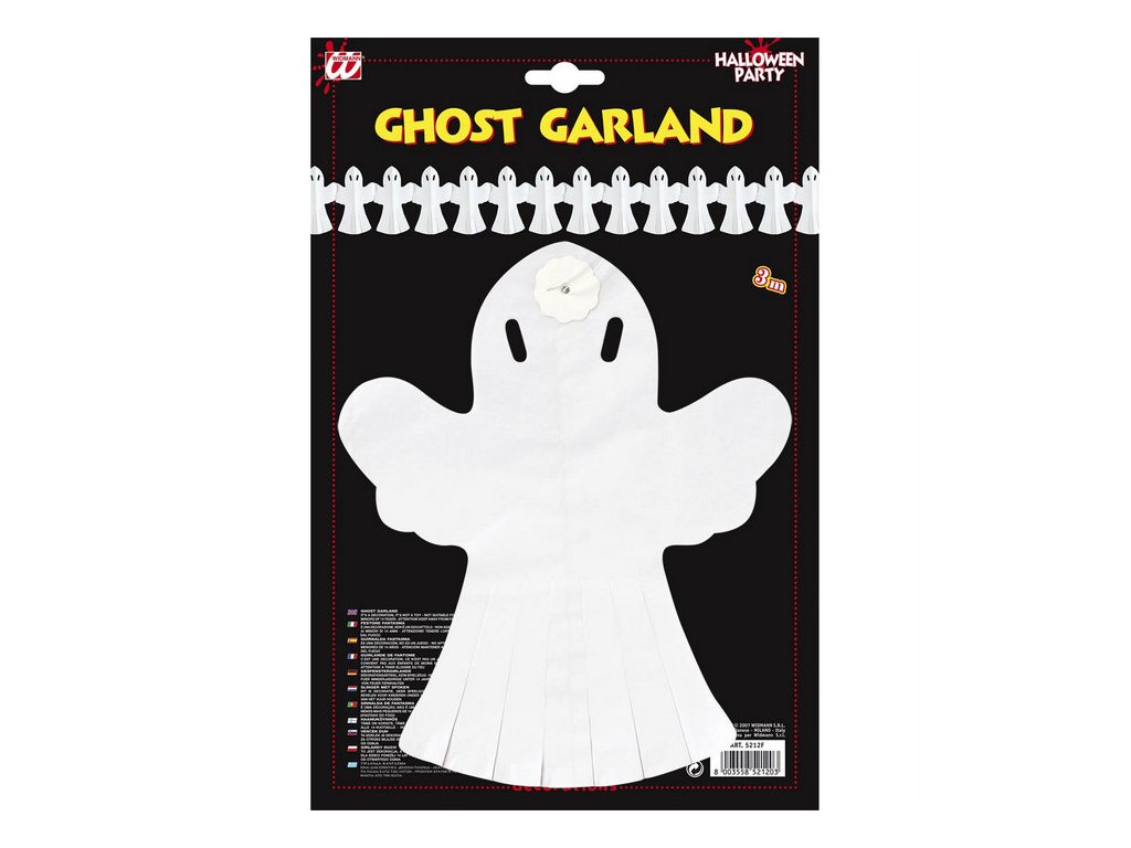 girlanda duch halloween
