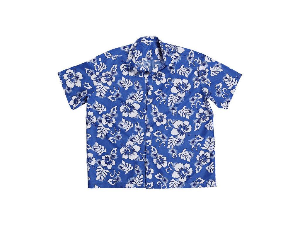 Košile Havaj - modrá - Ptákoviny-CB fa9cb8f109