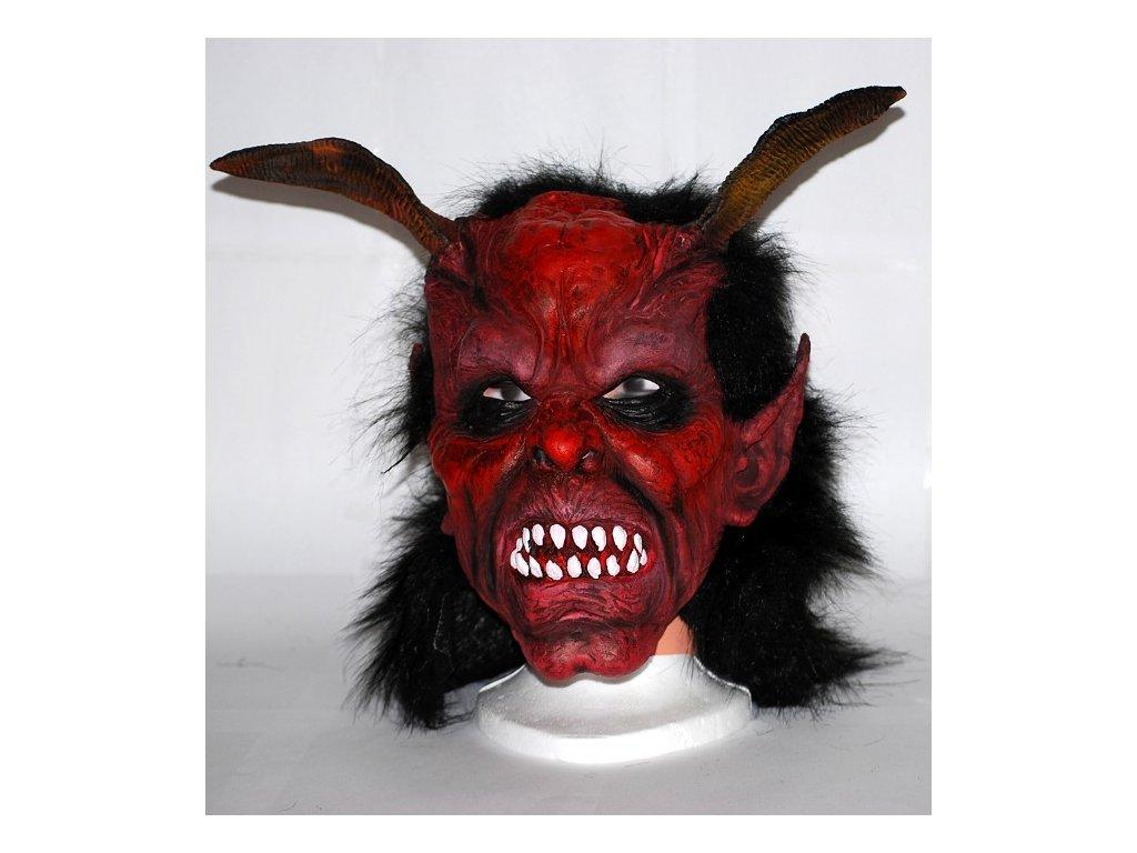 maska cert bile zuby