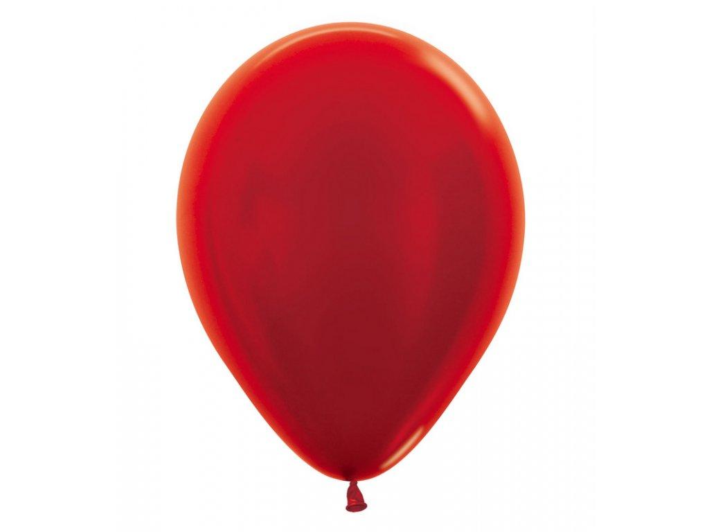 Cerveny balonek