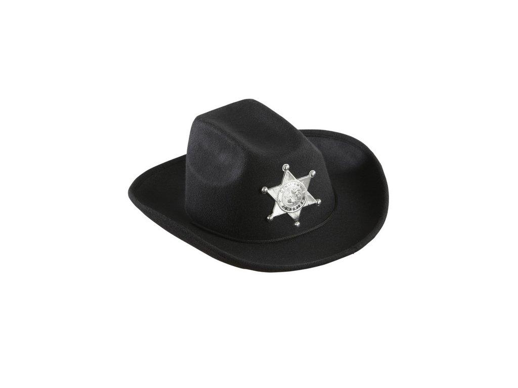 Dětský klobouk Sheriff s hvězdou - Ptákoviny-CB e0a2062af9
