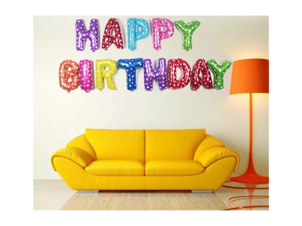 Balonky happy birthday