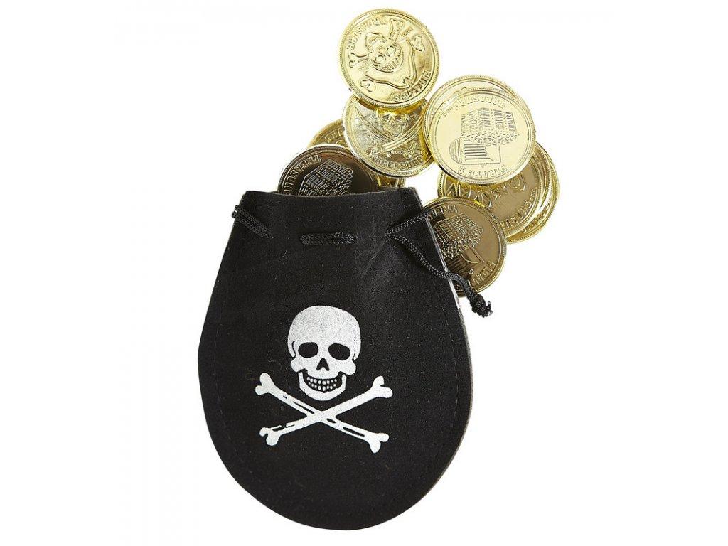 Sacek s dukaty pro pirata