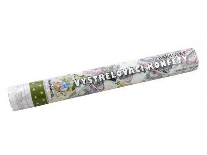 konfeta vystrelovaci bankovky