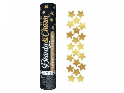 Konfety zlate hvezdy