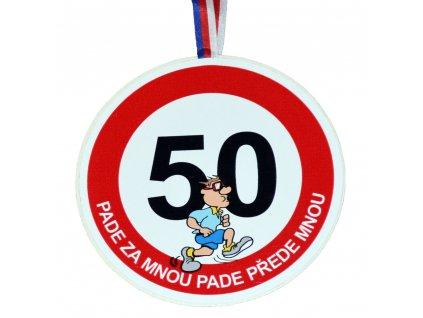 Medaile 50 muz
