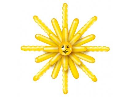 balonky slunce