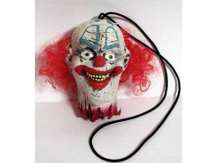 usekla hlava klaun