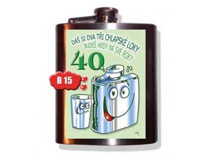 placatice 40 let