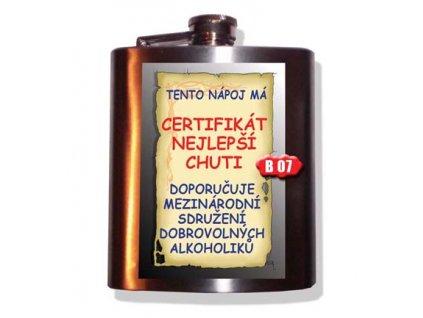placatice certifikat