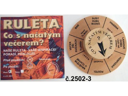 ruleta co s nacatym vecerem