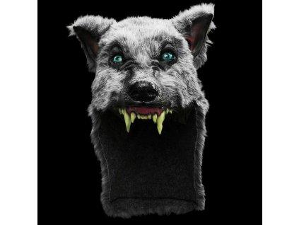 maska cepice vlk