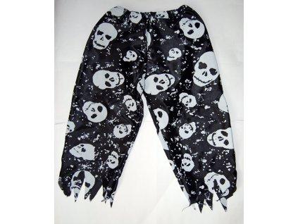 kalhoty pirat lebky