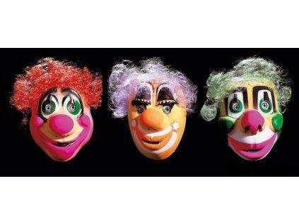Maska klaun detska