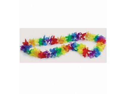 havajkse kviti barevne náhrdelnik