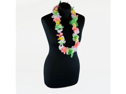 havajsky venec barevny
