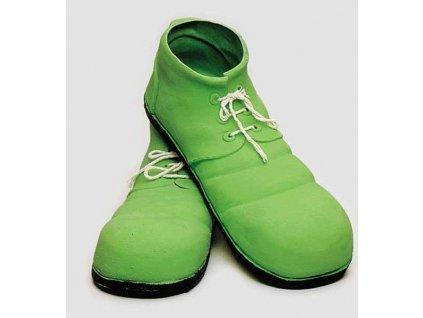 Klaunske boty zelene
