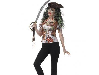tricko piratka