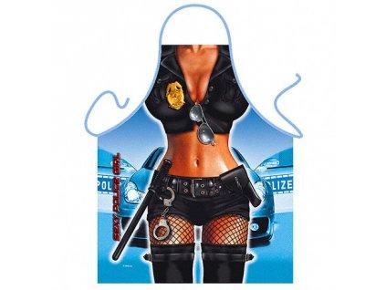 zastera policistka