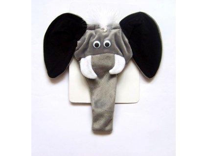 slipy slon se zvukem