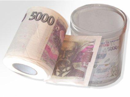 toaletni papir 5000 Kc