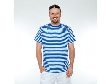 Pruhované námořnické tričko - pánské