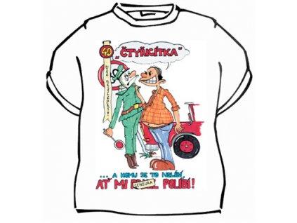 Tričko - Čtyřicítka vše nejlepší