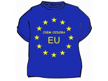 tricko ozdoba EU
