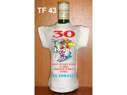 Tričko na láhev - 30