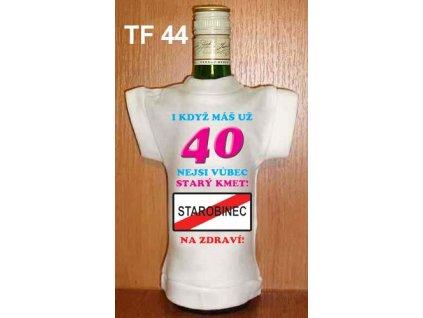 Tričko na láhev - 40