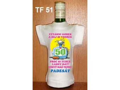 tricko na lahev vytahni korek s dej si vzorek 50