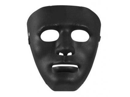 cerna maska plast