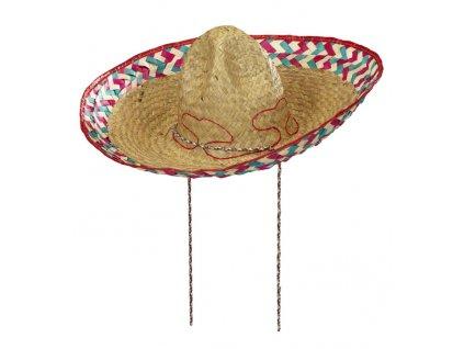 sombrero vysivane barevne