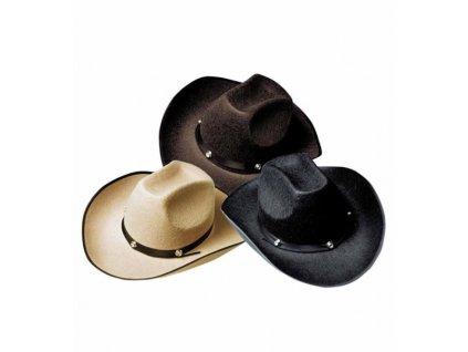 klobouk kovboj