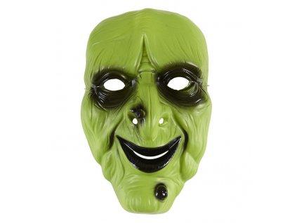 maska carodejnice plast