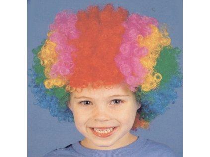 paruka klaun detska