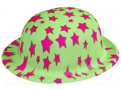 klobouk barevny