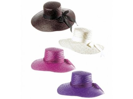 klobouk damsky slameny