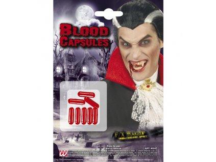 kapsle s krvi