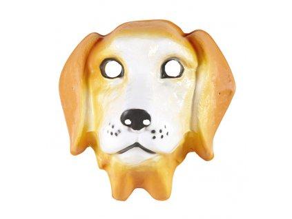 maska pes plastova