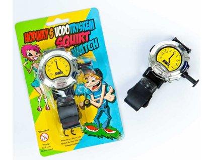 hodinky s vodotryskem strikaci