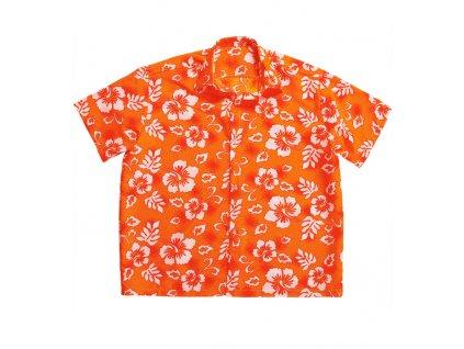 havajska kosile oranzova