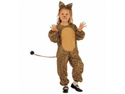 kostym leopard