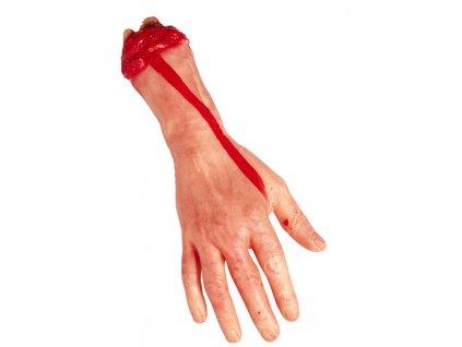 krvava utrzena ruka