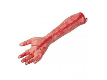 krvava paze ruka