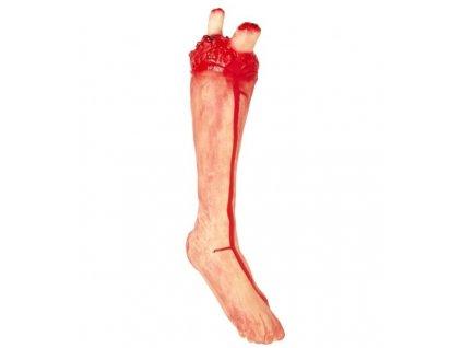 noha krvava atrapa