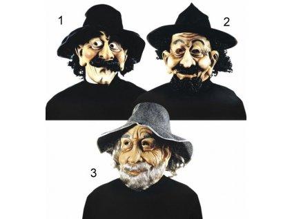 maska deda s cepici