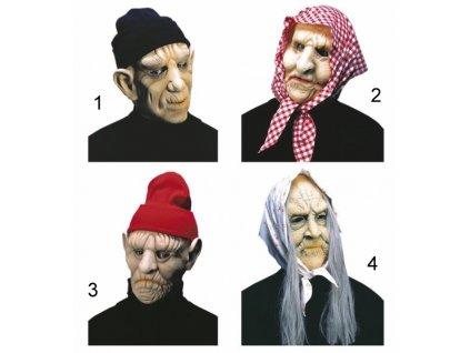 maska babka deda
