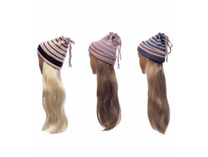 Cepice s vlasy
