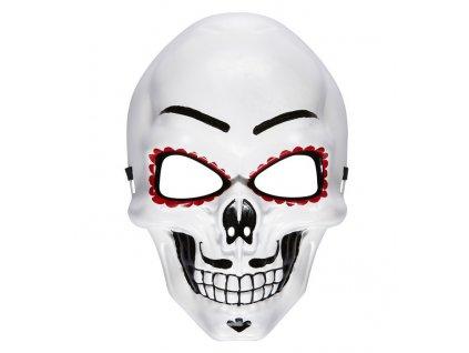 maska bila malovana